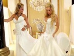 Briana Banks and Kelly Madison Having A Wedding Day Threeway Thumb