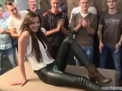 Czech gangbang 18 part 1 Thumb