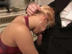 Busty slut sucking fat cock and gets part6 Thumb