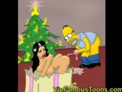 Famous toons Christmas orgy Thumb