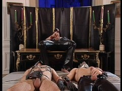 Crazy Orgy With Latex Babes Thumb