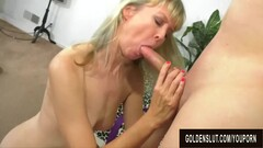 Royal Fuck Session with Insatiable British Granny Jamie Foster Thumb